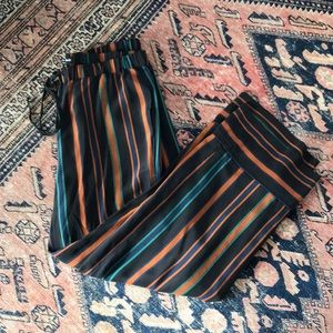 Madewell Pajama Trousers in Clermont Stripe